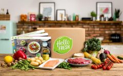 HelloFresh: college student, full-time employee, and no time for grocery shopping