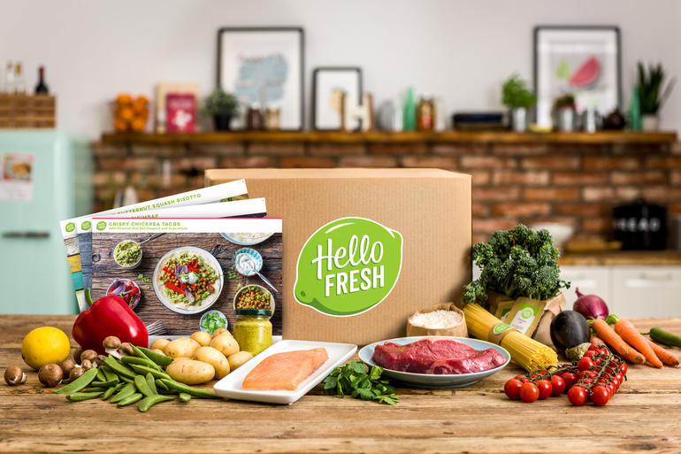 HelloFresh+provides+fresh+ingredient+boxes+to+millions+of+customers.