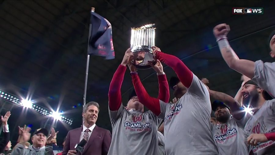 the Washington Nationals win the 2019 World Series!