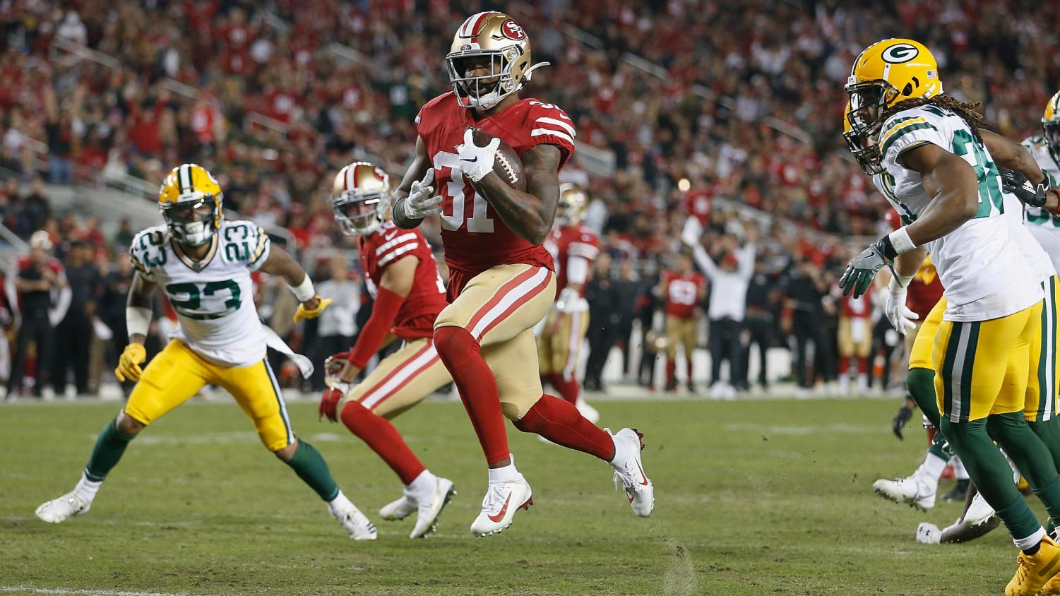 The Niners smash the Packers at home, giving them full control of the #1 seed in the NFC.