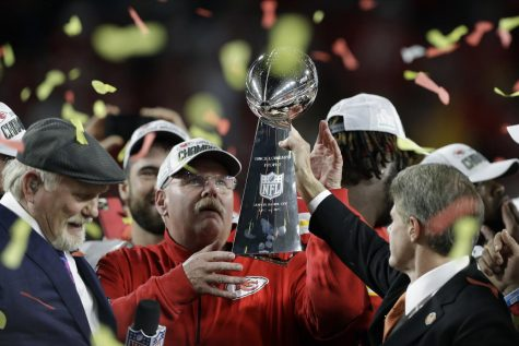 Andy Reid wins his first Super Bowl after 20+ years of coaching in the NFL.