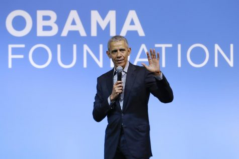 This Dec. 13, 2019 file photo shows former President Barack Obama speaking at the Gathering of Rising Leaders in the Asia Pacific, organized by the Obama Foundation in Kuala Lumpur, Malaysia. Obama will deliver a televised prime-time commencement address for the Class of 2020 during an hour-long event that will also feature LeBron James, Malala Yousafzai and Ben Platt, among others. ABC, CBS, FOX, and NBC will simultaneously air the special May 16 at 8 p.m. Eastern, along with more than 20 other broadcast and digital streaming partners, according to the announcement Tuesday from organizers. (AP Photo/Vincent Thian, File)
