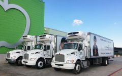 Houston Food Bank mobile delivery provides relief.