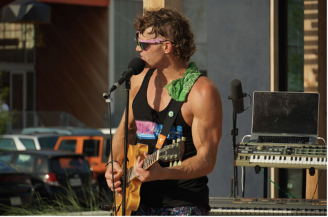 Legacy Man, Houstons own Rollerblading Musician